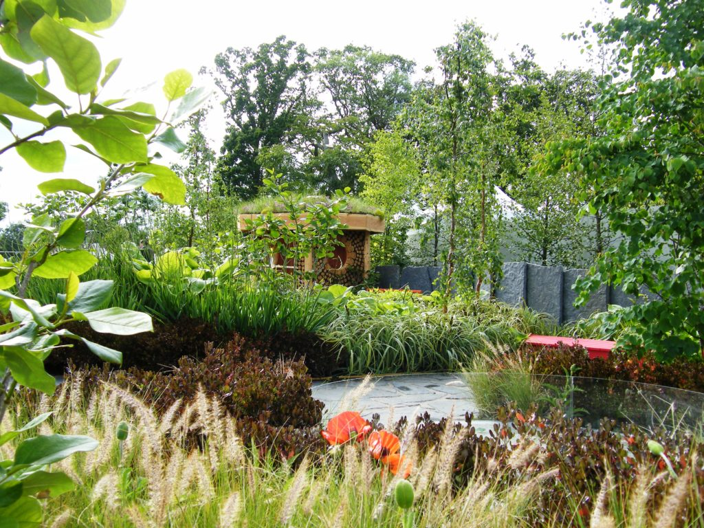 Awakenings tim austen garden designs for Irish garden designs