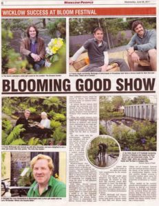 Bloom 2011 Wicklow Garden Designer Tim Austen Medal Winner Showgarden Growise Supergarden