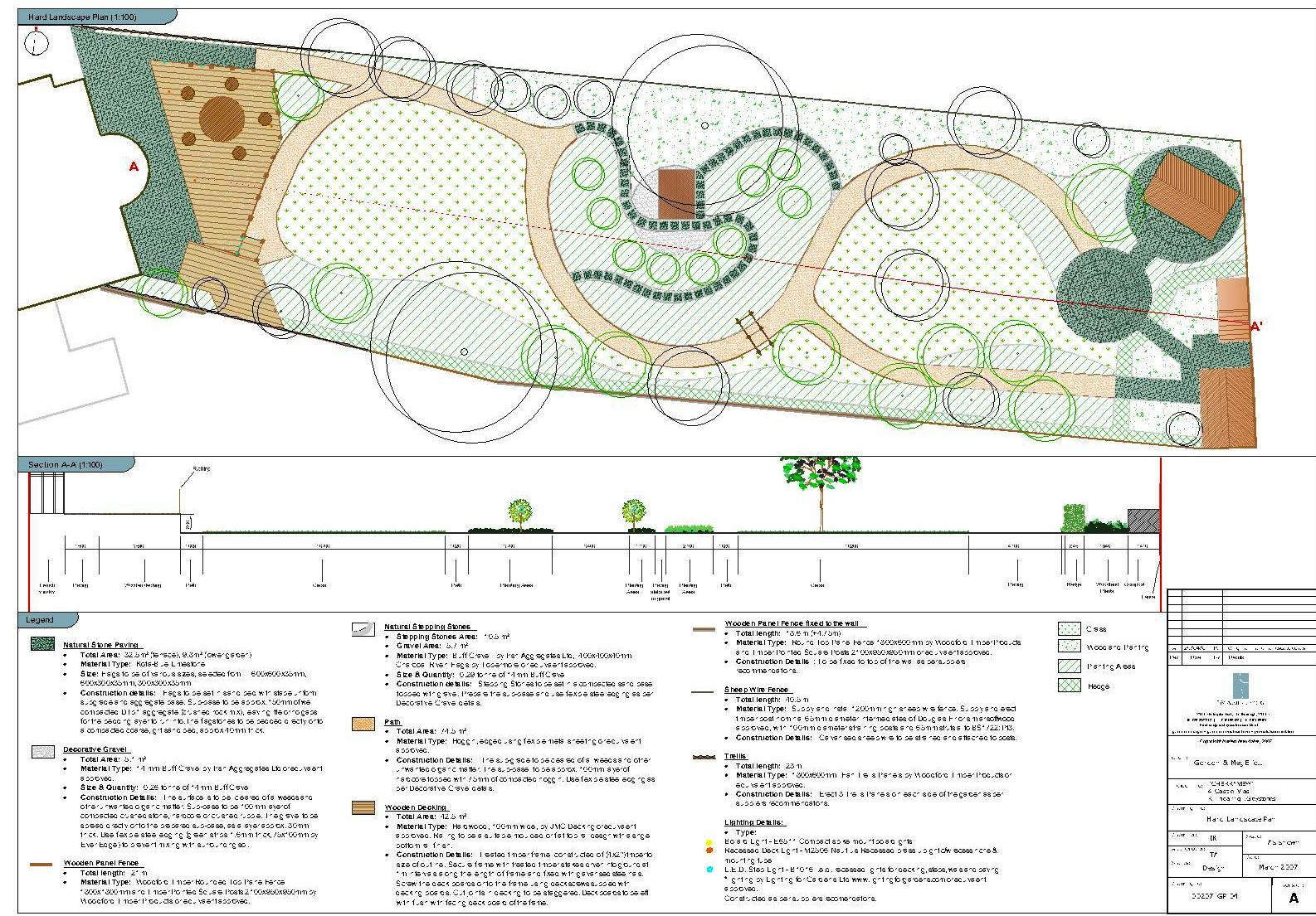 Garden masterplan and detailed design tim austen garden for Garden landscape drawing