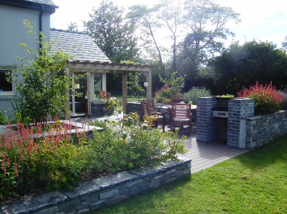 outdoor garden room in killarney co kerry