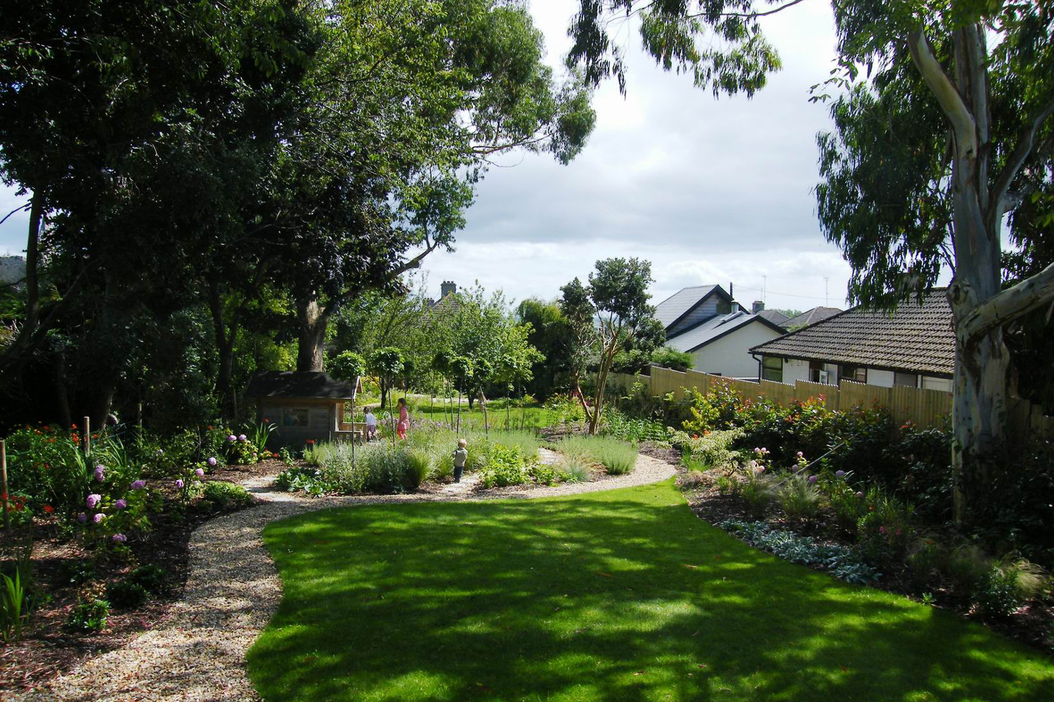 Enticing family garden in Greystones, Co. Wicklow - Tim ...