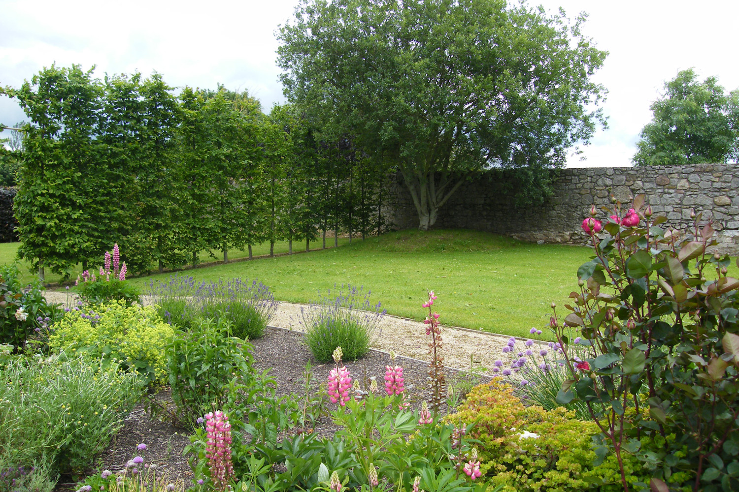 resplendent rural garden in cahir co tipperary tim austen garden designs. Black Bedroom Furniture Sets. Home Design Ideas