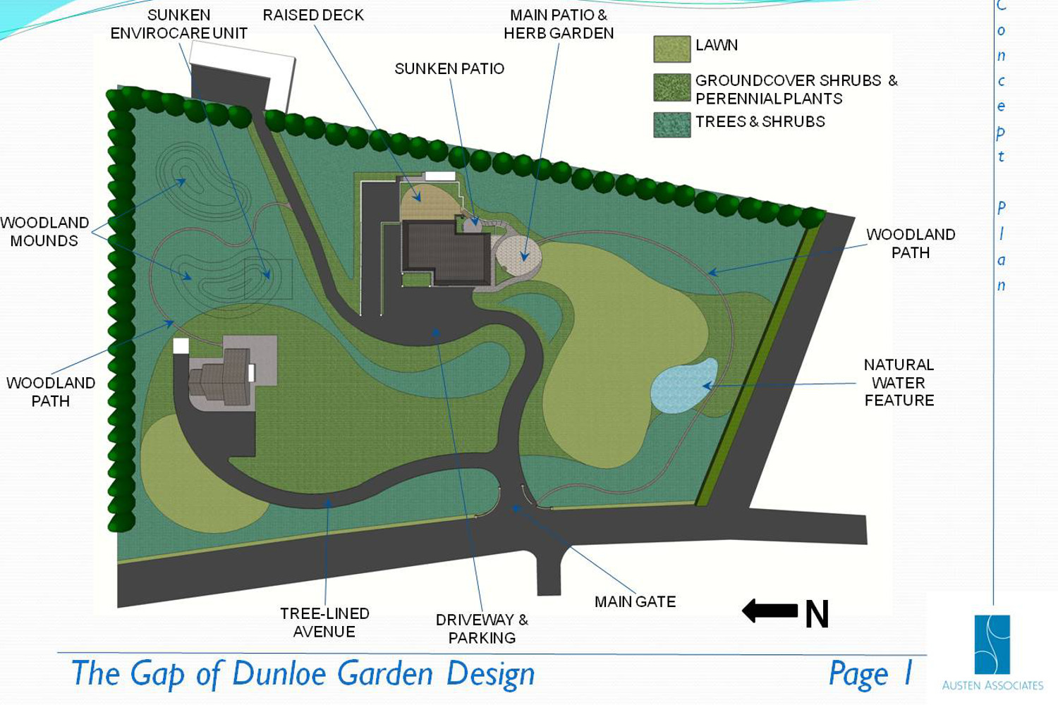 tim austen garden design rural garden killarney 3