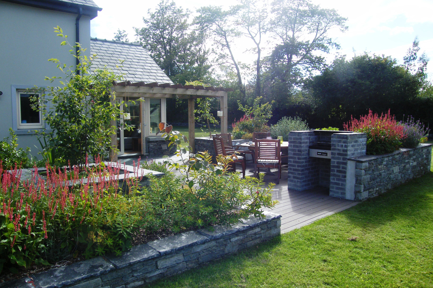 tim austen garden design stylish back garden killarney - Garden Design Kerry