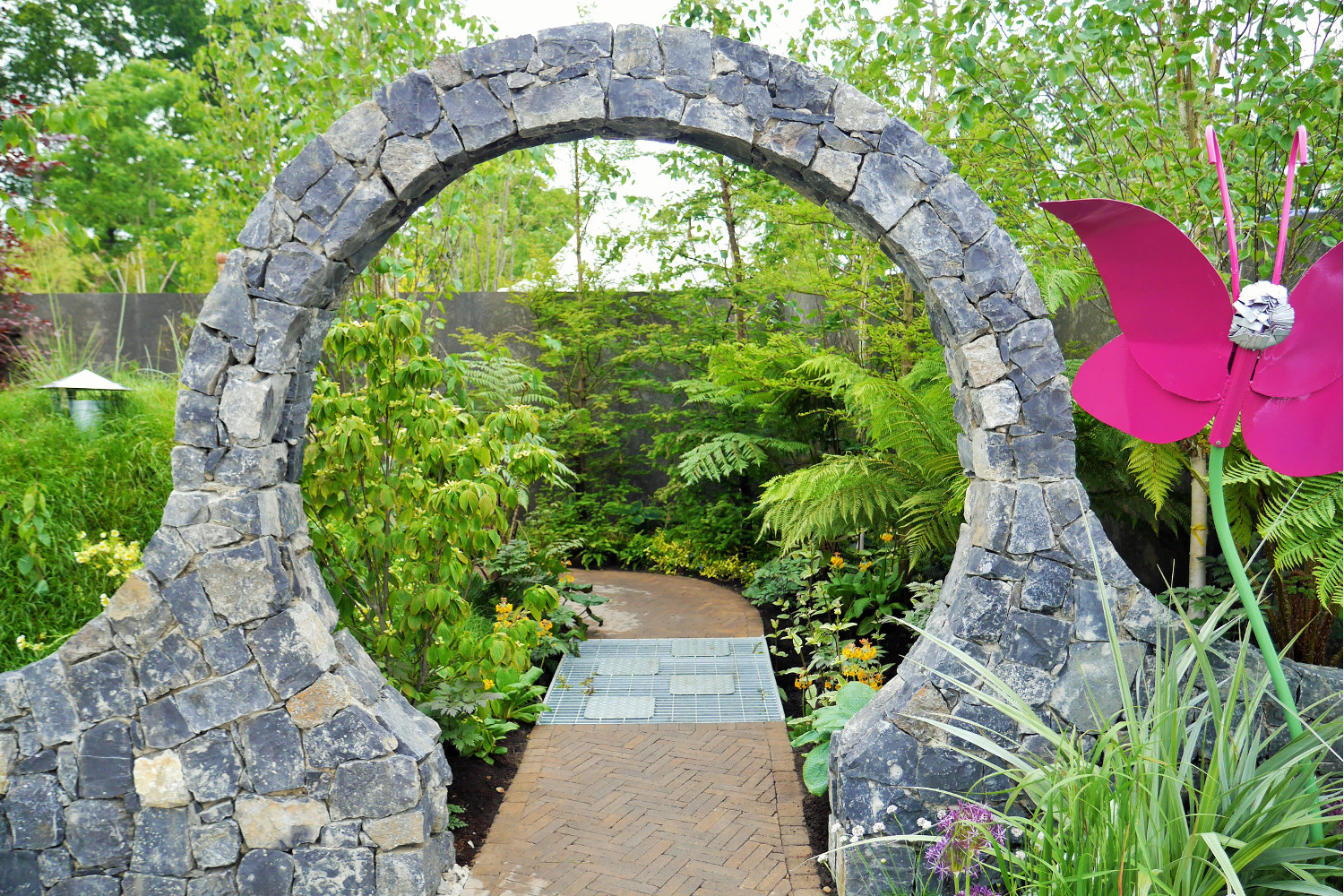 ... Tim Austen Garden Design Barretstown Childrens Charity 3 ...