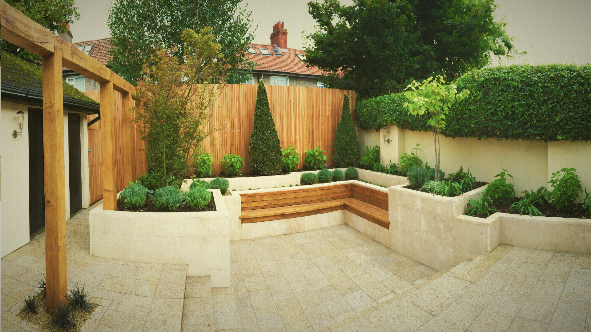 Stylish Sanctuary. Tim Austen Garden Designs   Designer gardens  consultations