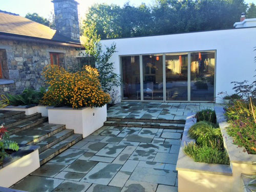 Portfolio tim austen garden designs for Garden design galway
