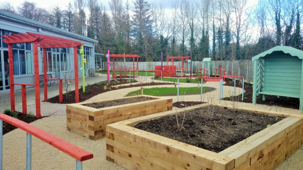vegetable beds, raised beds, gardening, garden design, low maintenance