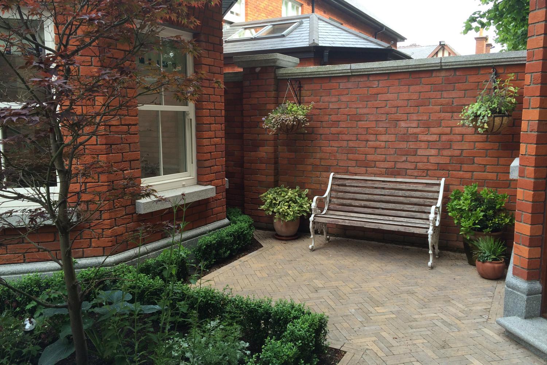 ... Tim Austen Garden Design Courtyard Garden Terenure 3 ...