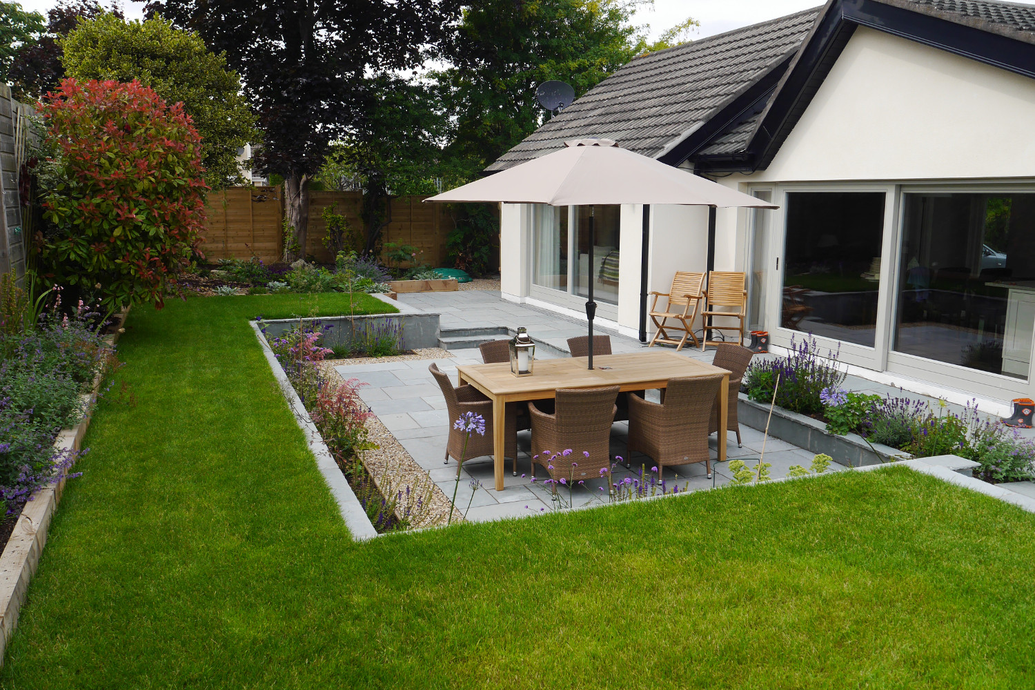 Family garden in Monkstown - Tim Austen Garden Designs on Modern Back Garden Ideas id=26793